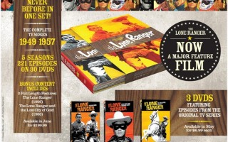 'The Lone Ranger' Box Set and Vintage Single DVD's Coming Soon. Win One Here!