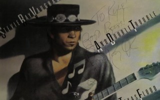 Rare Backstage Interview with Stevie Ray Vaughan 1984