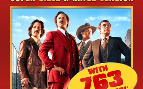 Anchorman 2 Super-Sized R Rated Version Coming To Theatres For One Week