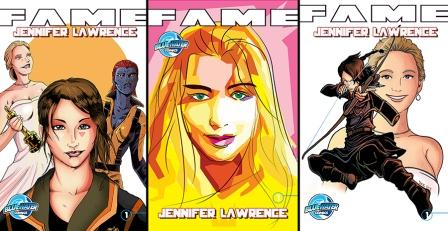 Oscar Winning Actress Jennifer Lawrence Gets Comic Book Treatment