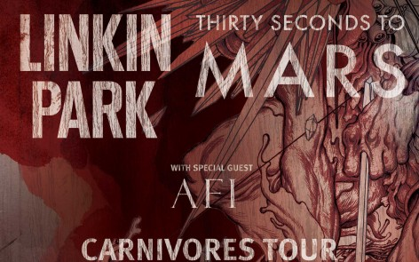The Carnivores Tour Linkin Park & Thirty Seconds To Mars with AFI All Tour Dates and Tickets Here