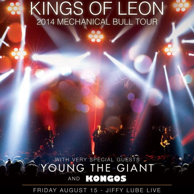 Kings Of Leon Announce 2017 UK Arena Tour Dates | News - Radio X
