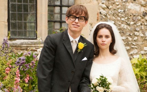 """Movie Review: """"The Theory of Everything"""" 4 out of 4 Stars. Certain Oscar Nom for Eddie Redmayne"""