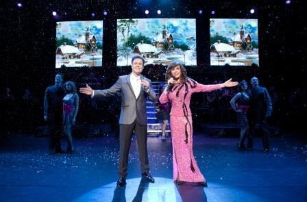 Review: Donny and Marie: Christmas at the National