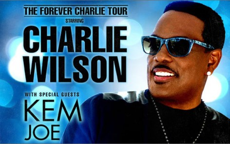 Charlie Wilson with Kem and Joe. All Tour Dates and Tickets Here