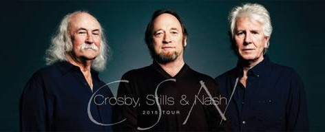 Crosby, Stills and Nash Announce 2015 Tour. All Ticket Info and Tour Dates Here