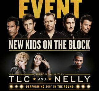 New Kids on The Block with TLC and NELLY All 2015 Tour Dates and Tickets Here