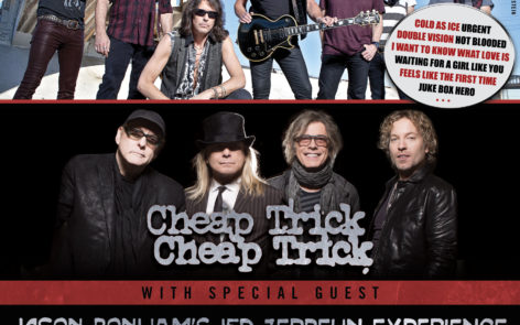 Foreigner with Cheap Trick and Jason Bonham – All Tour Dates and Ticket Info Here