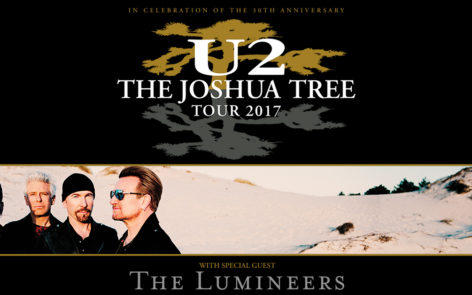 U2 : The Joshua Tree Tour 2017 – All Tour Dates and Tickets Here